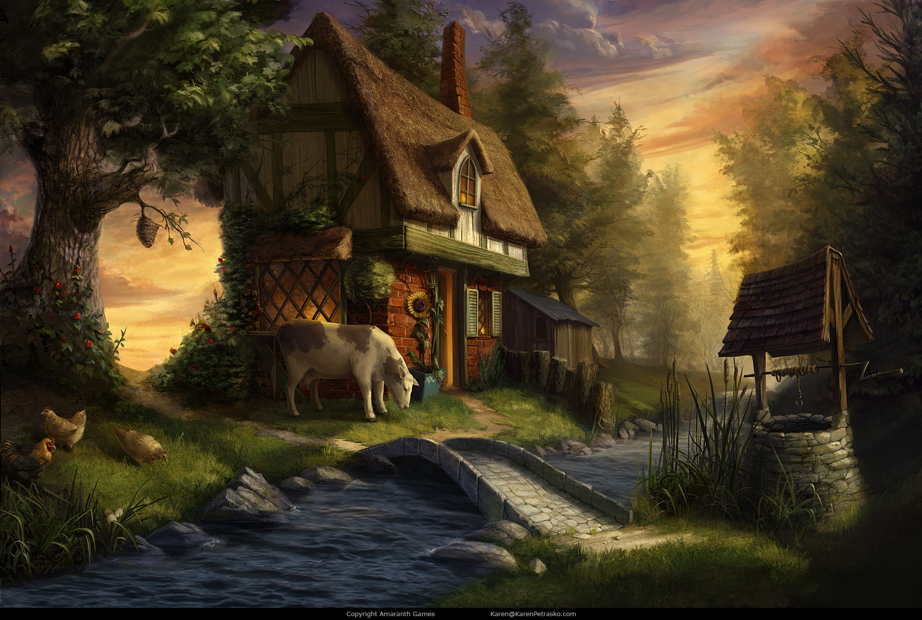 Cottage created for Curse at Twilight: Thief of Souls