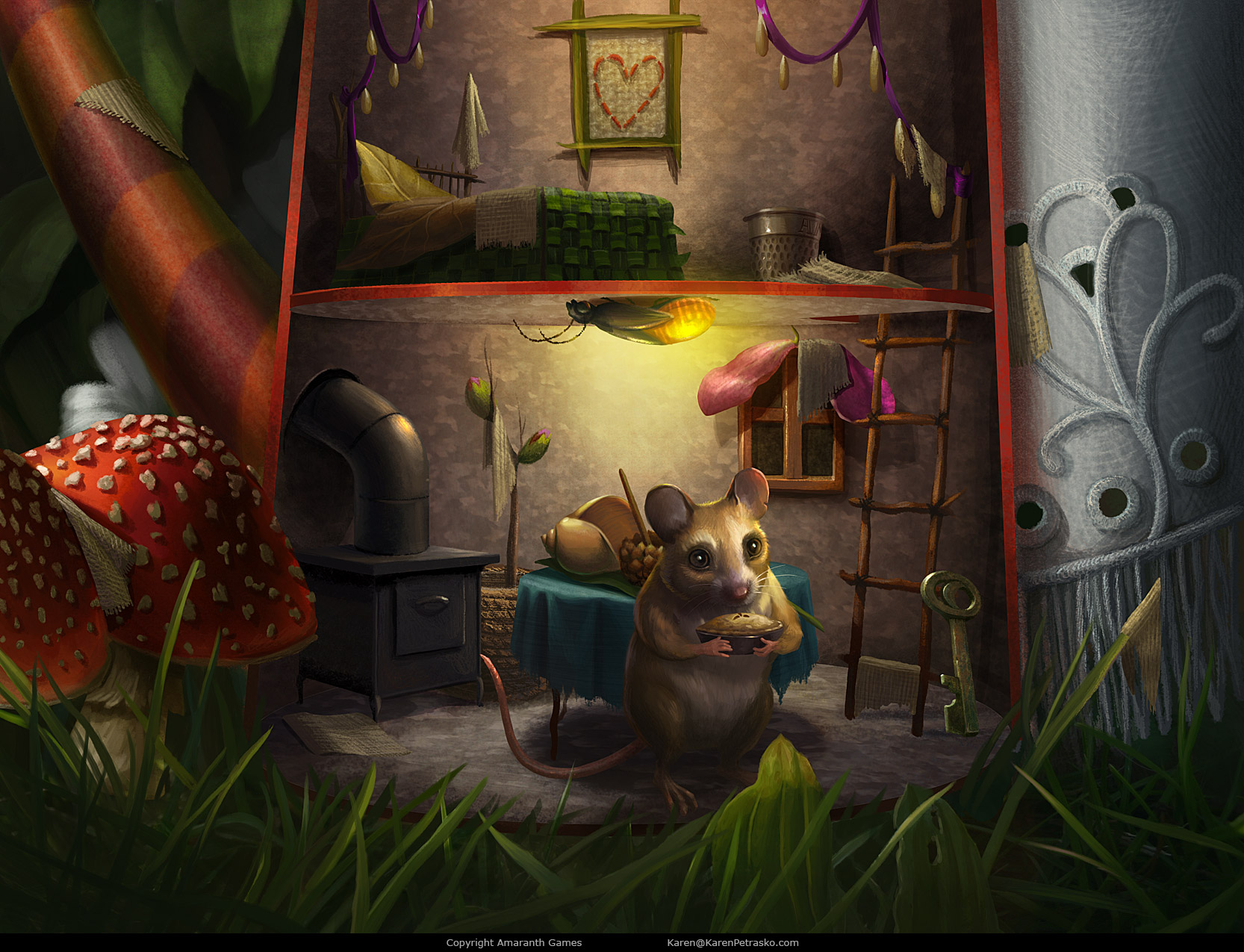 Mouse House created for Curse at Twilight: Thief of Souls